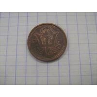 Барбадос 1 цент 1999г. km10a
