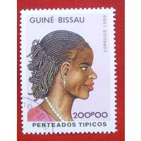 Гвинея-Бисау. ( 1 марка ) 1989 года.