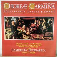 Choreae & Carmina. Renaissance dances & songs. Mint