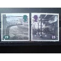 Англия 1994 Поезд, вокзал Михель-1,8 евро гаш