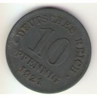 10 пфеннигов 1921 г.