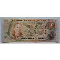 Филиппины 10 писо 1974-85 (P161d) UNC