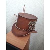 Шляпа, цилиндр в стиле стимпанк