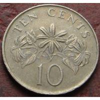 3810:  10 центов 1986 Сингапур