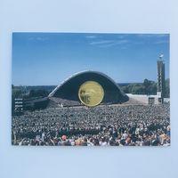 1 крона Эстония Песенный фестиваль 1999 UNC в буклете (очень редкая)