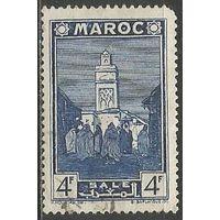 Французское Марокко. Город Сале. 1939г. Mi#170.