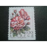 Швеция 1994 цветы