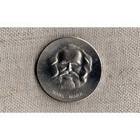 Германия Медаль DDR - Карл Маркс - 30 - летие  боевых групп рабочего класса (в футляре)