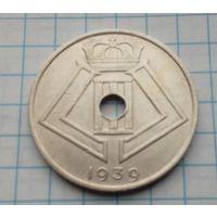 Бельгия 25 сантим 1939г.