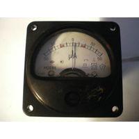 Милиамперметр М261М, 5.8х5.8 см.