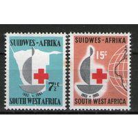 Юго-Запад. Африка. Михель- 320-321. Чистая.
