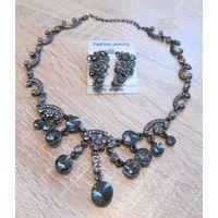 Ожерелье с серьгами