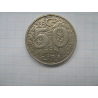 Турция 50 000 лир 1999г.km1056