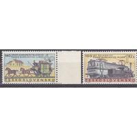 Железная дорога Чехословакия 1968  1806-7 **MNH\\13