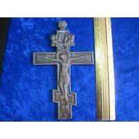 Крест латунный 17 см.