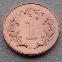 Зимбабве. 1 цент 1997 год  KM#1a