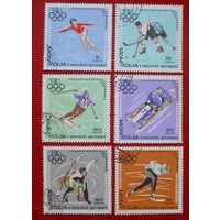 Монголия. Спорт. ( 6 марок ) 1968 года.