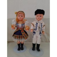 Куклы в национальном костюме. 30 см.