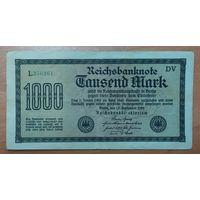 1000 марок 1922 года - Германия (Ro.75f)