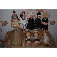 """Ретро-СУВЕНИРНЫЕ-куклы No2 фирмы: """"Марин"""" из Испании, - производства 50-60гг. Куклы *Marin - это мужские и женские персонажи, одетые в народные или исторические костюмы. Широкая улыбка, взгляд в сторо"""