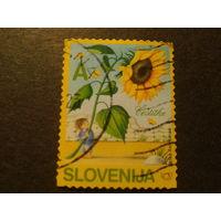 Словения 2005г. Подсолнух