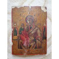 Икона Пресвятая Богородица Троеручица
