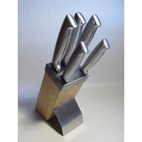 Набор кухонных ножей 6 элементов KH-3461 KINGHoff на деревянной стойке!