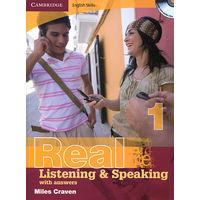 АНГЛИЙСКИЙ язык: аудирование, слушание, говорение: Real Listening and Speaking 1, 2, 3, 4 (Cambridge English Skills series) with Answers and аudio