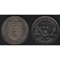 Official England Squad. Forward. Alan Shearer -- 1998 - The Official England Squad Medal Collection (f01)