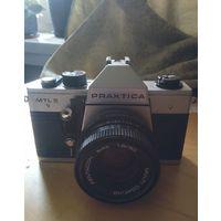Фотоаппарат Praktica MTL 5 с объективом Pentacon 1.8/50 производство ГДР