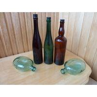 Три красивые бутылки из прошлого. ВОВ.