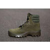 41й размер Oliva Fleece . Ботинки замшевые,утепленные обувным флисом