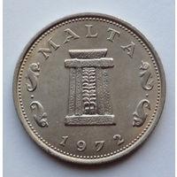 Мальта 5 центов. 1972