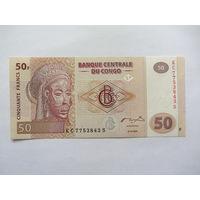 Конго, 50 франков, 2007 г.