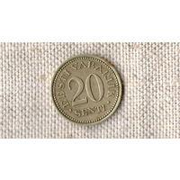 Эстония 20 сенти 1935 //(ON)