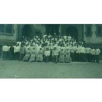 """Фото служащих военного госпиталя """"1-я мировая война"""" Германия. Размер 8.5-13.5см"""