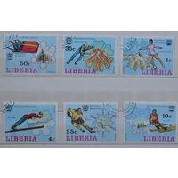 Либерия   12 зимние Олимпииские игры
