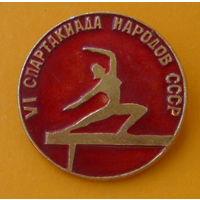 VI cпартакиада народов СССР.