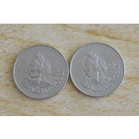 Гватемала 25 сентаво 2000