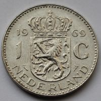1 гульден 1969 Нидерланды