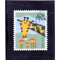 Япония.Ми-2240. День письма - Жираф с письмом. 1994.