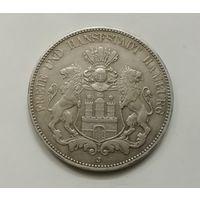Германия Гамбург 5 марок 1908 г
