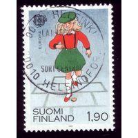 1 марка 1989 год Финляндия 1082
