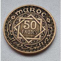 Марокко 50 франков, 1952 6-7-23