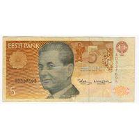 Эстония 5 крон 1991 года