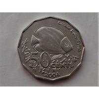Кокосовые острова (Килинг) 50 центов 2004
